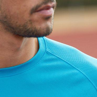 Running shirt TrackMyBack 100% polyester